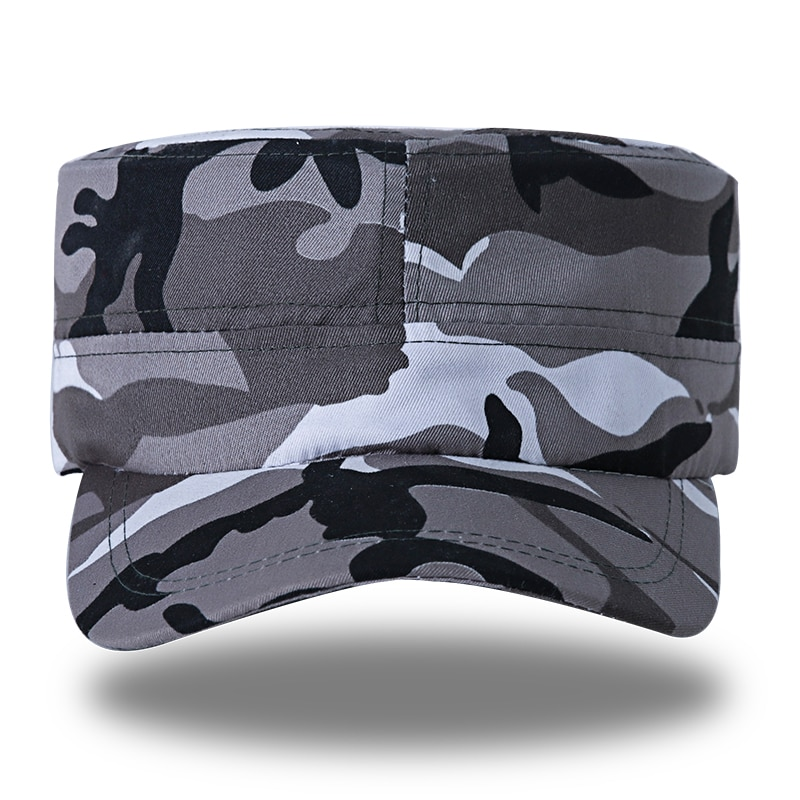 Militar 2016 caliente ejército táctico Militar pesca sombrero Caption camuflaje hombres mujeres Cap Gorras militares Gorras para senderismo