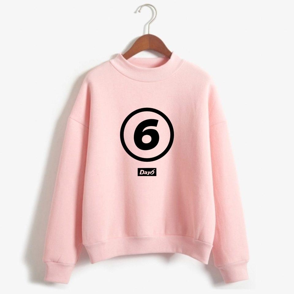 Day6 Hoodies Winter Kpop Day6 Sweatshirt Streetwear Fashion Hoodie Sweatshirts Korean Day 6 Fan Support Harajuku Tracksuit Tops