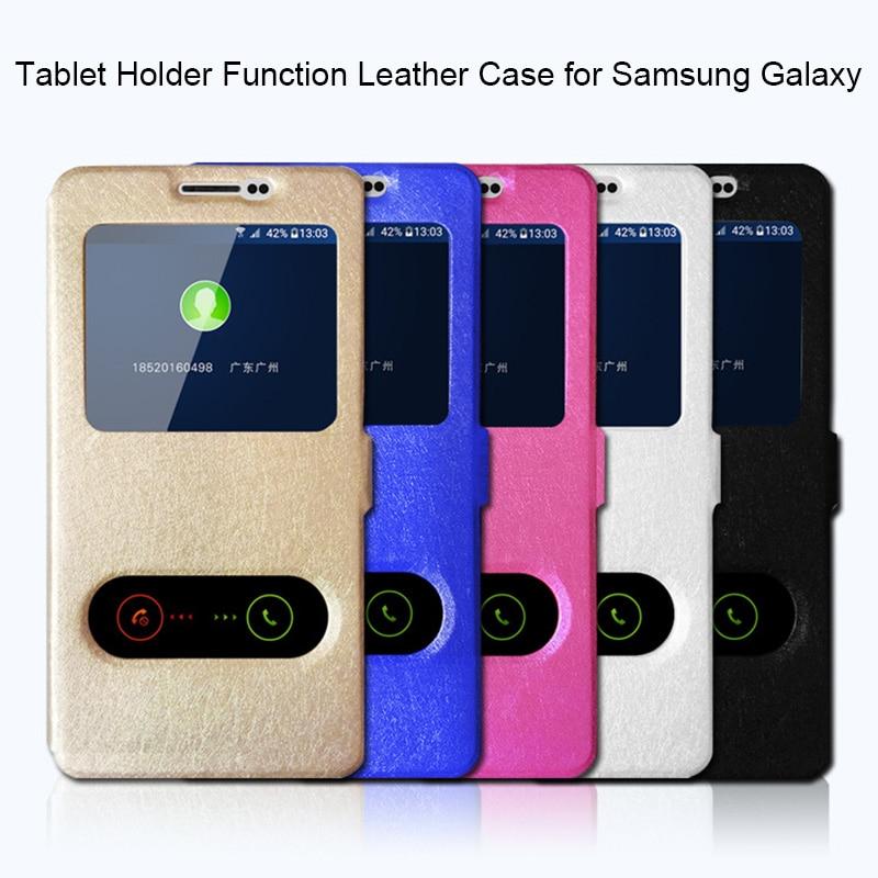 Funda para Tablet Samsung Galaxy Grand Prime Plus, funda de piel de seda para Samsung J2 Prime J3 J5 2016 J7 2017 J4 J6 J8 2018