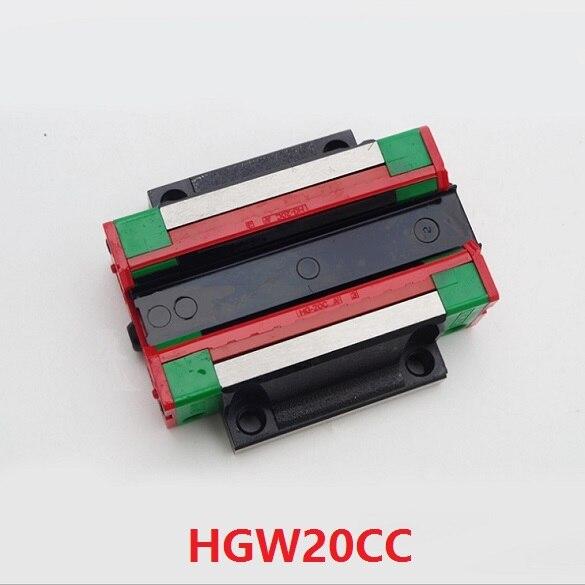10 قطعة/الوحدة HGW20CA (HGW20CC) المنزلق كتلة شفة النقل كتلة مباراة استخدام HGR20 20 مللي متر خطي السكك الحديدية دليل CNC DIY أجزاء الصين صنع