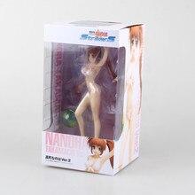 "Ondata calda di Costumi Da Bagno Magical Girl Lyrical Nanoha Strikers Nanoha Takamachi Ver.2 Attaccanti Sexy 7 ""Action Figure"