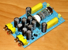 3 واط AC12V-15V/500ma الموسيقى الفاكس DX-10 تصميم الدوائر 12at7 أنبوب العازلة أنبوب preamplification مجلس 123x72x28 ملليمتر