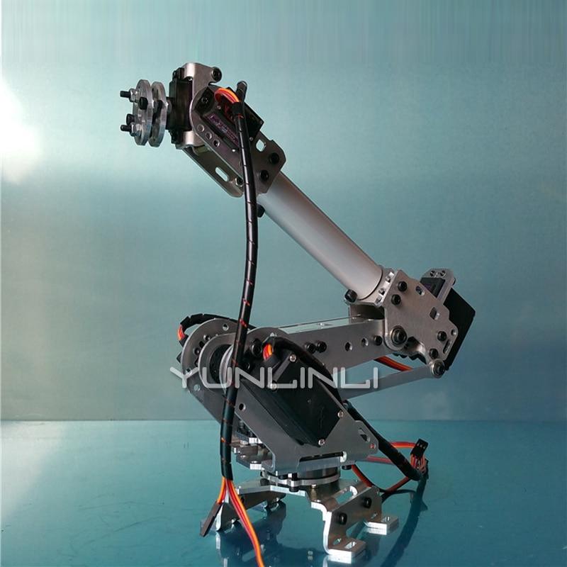 New Robotic Arm 6 Degree Of Freedom Manipulator Abb Industrial Robotic Model Six Axis Robot 2 enlarge