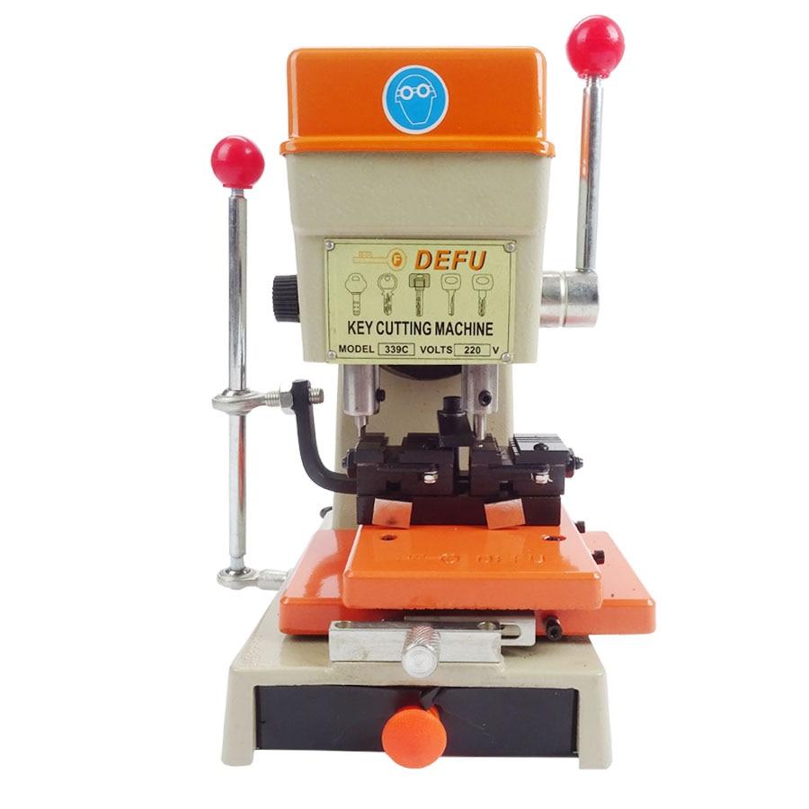 339C Verticale Sleutel Cutter Defu Sleutel Snijmachine Voor Dupliceren Beveiliging Sleutels Slotenmaker Gereedschap Lock Pick Set 220 v/50 hz