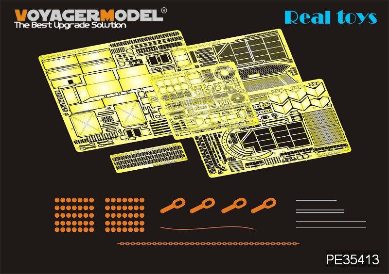 Voyager PE35413 135 IDF Merkava mk. Iv LIC MBT w. De ( para academia 13227 )