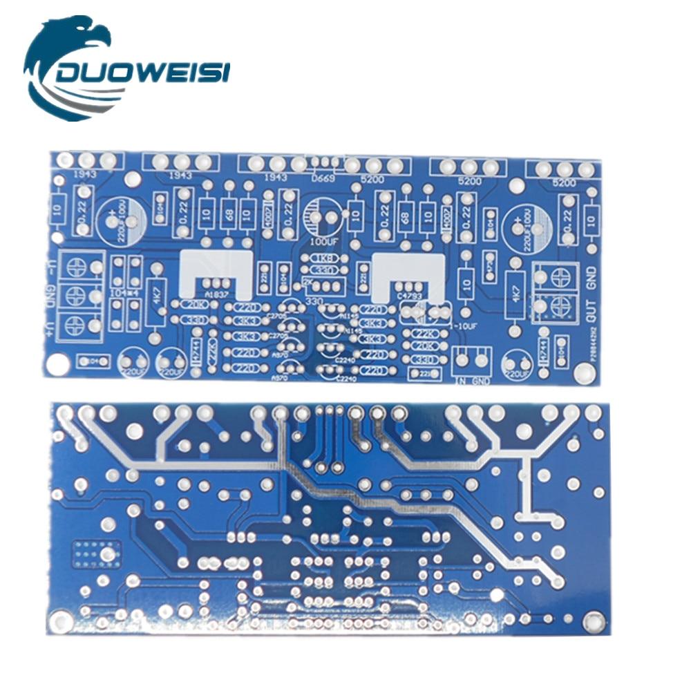 Power amplifier board PCB empty board series 300W 200W LM7293 tda2030a