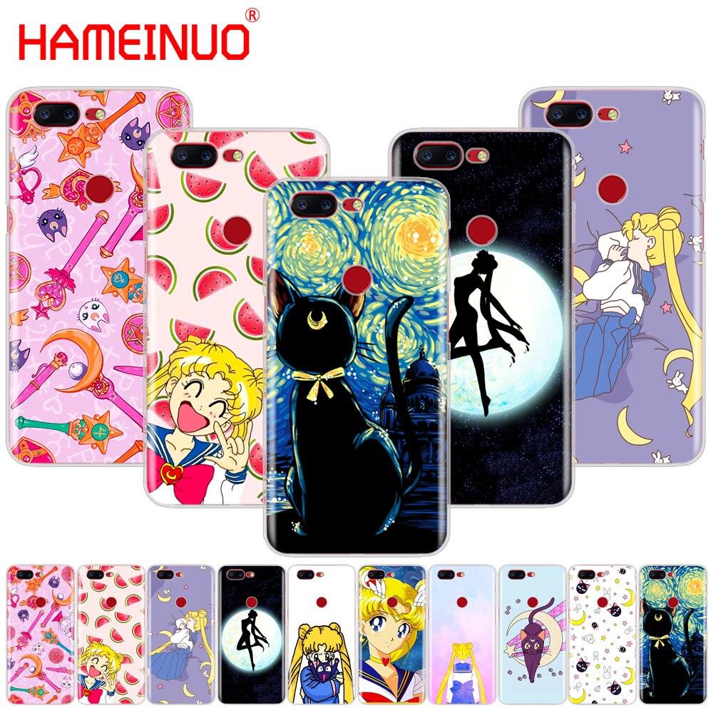 Funda de teléfono HAMEINUO Sailor Moon Mercury, funda bonita para Oneplus one plus 6 5T 5 3t 2 A3000 A5000