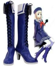 Axe pouvoirs Hetalia Anna Braginskaya bottes Anime Cosplay chaussures