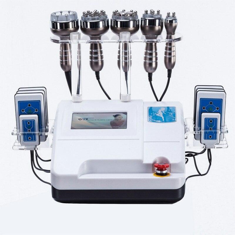 سعر المصنع 8 منصات ديود آلة التنحيف بالليزر + 40K آلة التجويف + التخسيس فراغ RF السيلوليت ماكينة التخلص من الوزن