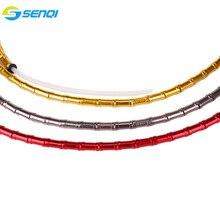 CNC bambusowy przewód hamulcowy pokrywa składany rower/szosowe/MTB Jagwire prędkość roweru linia obudowa SCK001