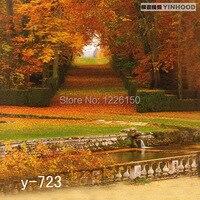 רקע נוף y-723 מסתורי 10ft x20ft יד מצוירת רקע צילום estudio fotografico רקע עבור צילום סטודיו