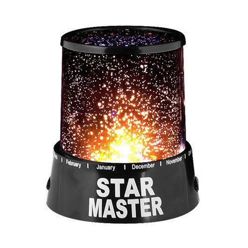 Estrela mater noite luz céu projetor led humor lâmpada crianças quarto tsh loja