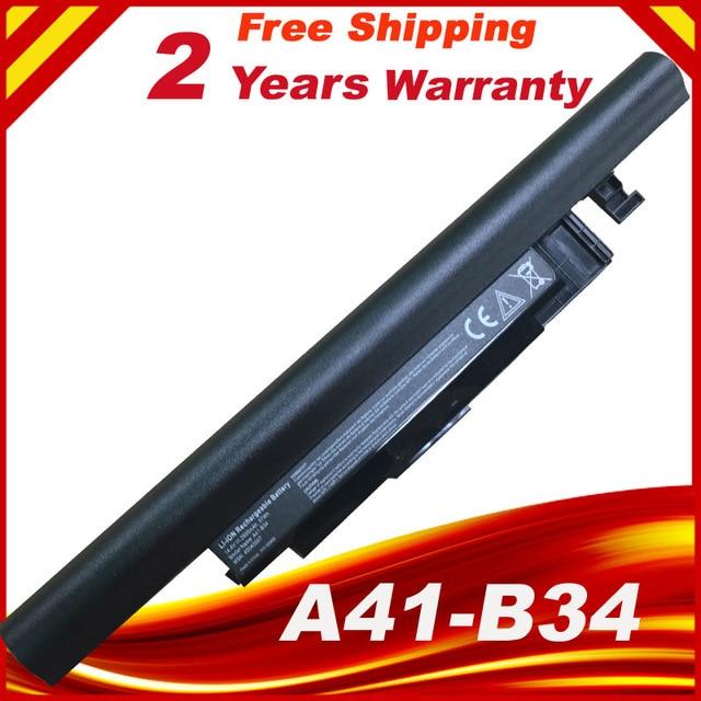 HSW 14,4 В 2600 мАч A41-B34 A32-B34 Аккумулятор для ноутбука MEDION DNS 0151435 DNS 0801149 N1408 Akoya E6237 S4211 E6241 S4209 Haier S5