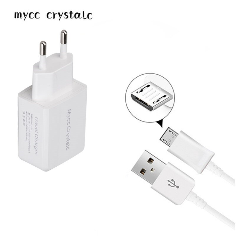 5 V 2.4A UE adaptador de cargador de viaje para HiSense L676/M30/F20/A1/C1 HomTom C2 /S99/S12/HT30 Pro/S7/S16/S9 Plus/S8 Micro USB de 1 M cable