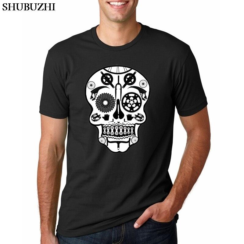 Camisetas divertidas con diseño de calavera para motociclista BMX, accesorios de camiseta para ciclismo para hombre, camiseta para ciclismo de montaña o motociclista, ropa gráfica perfecta para adultos