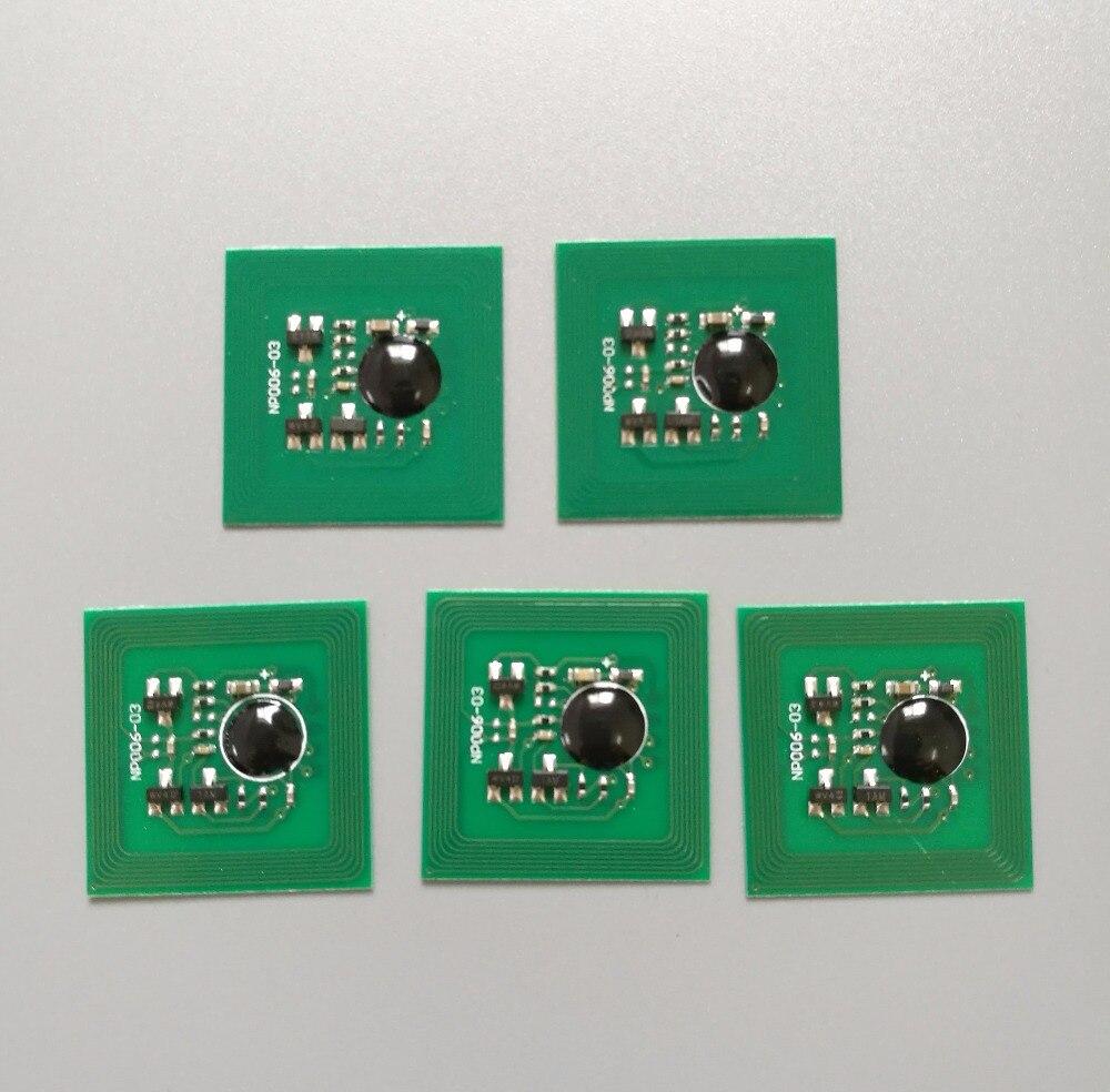 """25 x Chip para el restablecimiento de tambores """"101R00435"""" para Xerox work center 5220 5222 5225 5230 (80.000 páginas) cartucho de tambor Chip"""