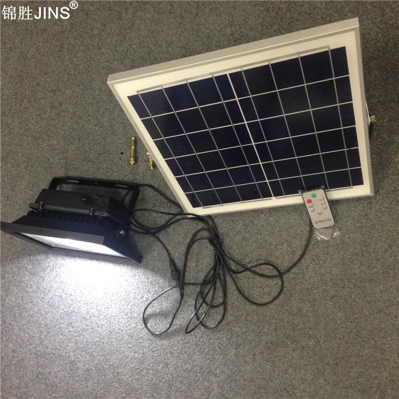 luz solar 5w com controle remoto e temporizador interruptor de luz com sensor e iluminacao de jardim