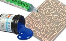 Photoreception bleu pétrole production plaque sensible pour CCL (cuivre-plaqué) à simple face DE CARTE PCB échantillon platine de prototypage de circuit