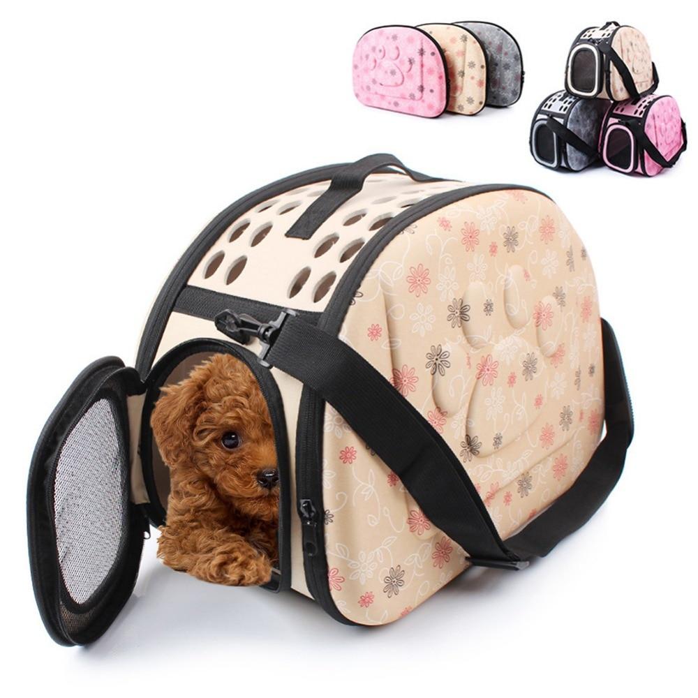 Bolso de viaje para mascotas, gatos, cachorros, gatos, bolsas para llevar al aire libre, bolso de hombro para perros pequeños, perrera para mascotas suaves, WLYANG