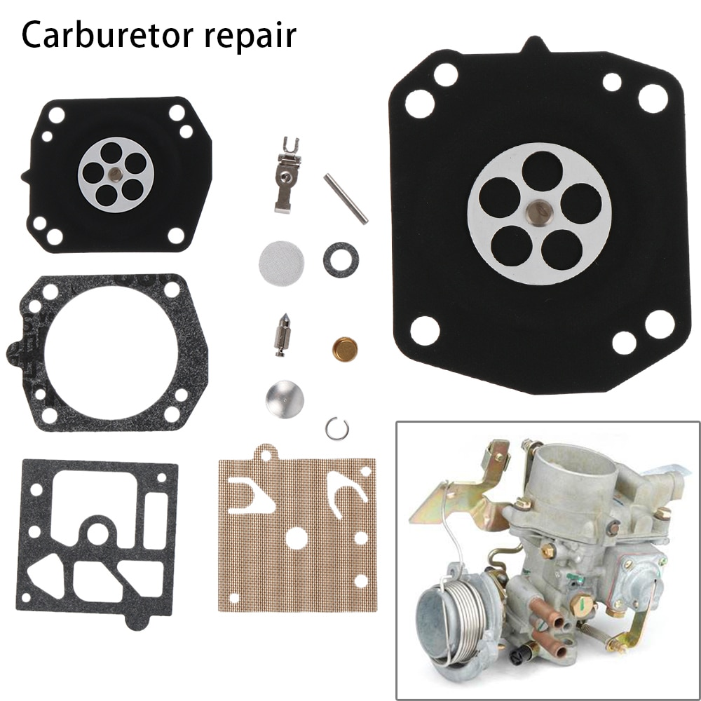 1 Set For Walbro K22-HDA Carburetor Carb Repair Kit Echo Chainsaw Gasket Needle Diaphragm Homelite Trimmer Replacement Parts