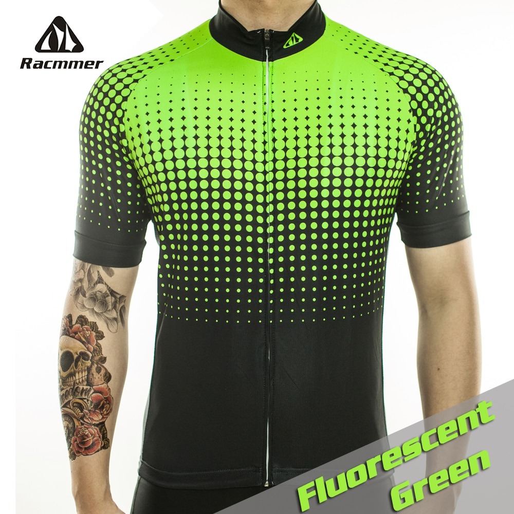 Racmmer-Ropa De Ciclismo para Hombre, Maillot De bicicleta corta, Verano, n. °...