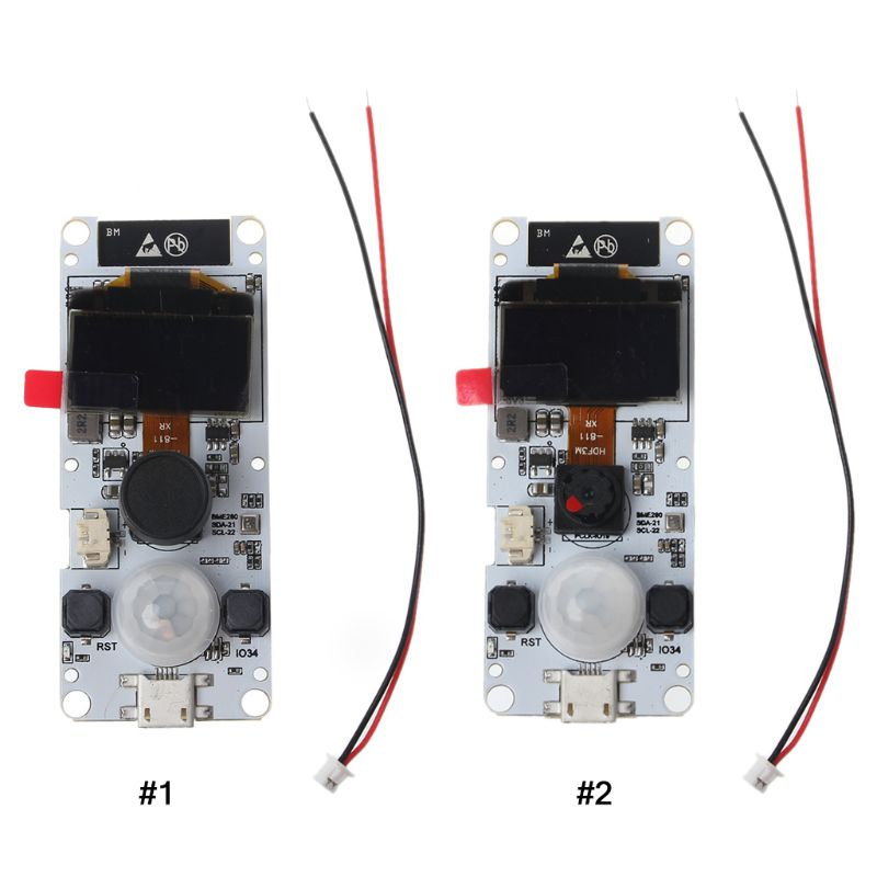 Ttgo t-camera esp32 wrover & psram módulo de câmera ESP32-WROVER-B ov2640 módulo de câmera 0.96 oled #418