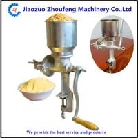 corn grinder flour machine manual home use wheat soybean coffee bean mill machine zf