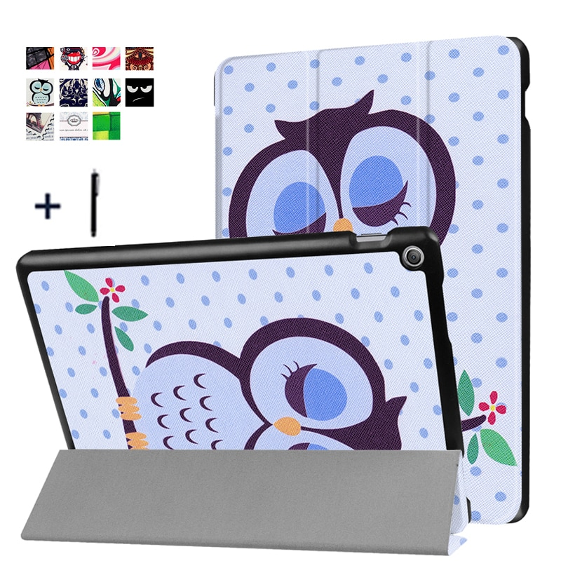Чехол для планшета ASUS Zenpad 10 Z301MFL, чехол для ASUS Zenpad 10 Z301ML, кожаный чехол с откидной крышкой, тонкий чехол + стилус