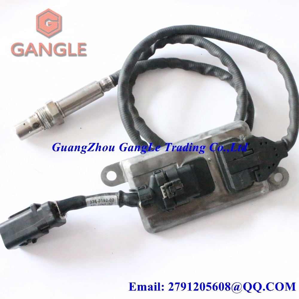 Soot Particulate Sensor Partikel Oxygen O2 NOX Sensor Lambdasonde for Caterpillar CAT 24V 336-3189 3363189 336-3192 3363192