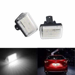 ANGRONG LED License Number Plate Light Lamps For Mazda 6 Atenza GG/GY CX-5 CX-7 Mazdaspeed6(CA335)