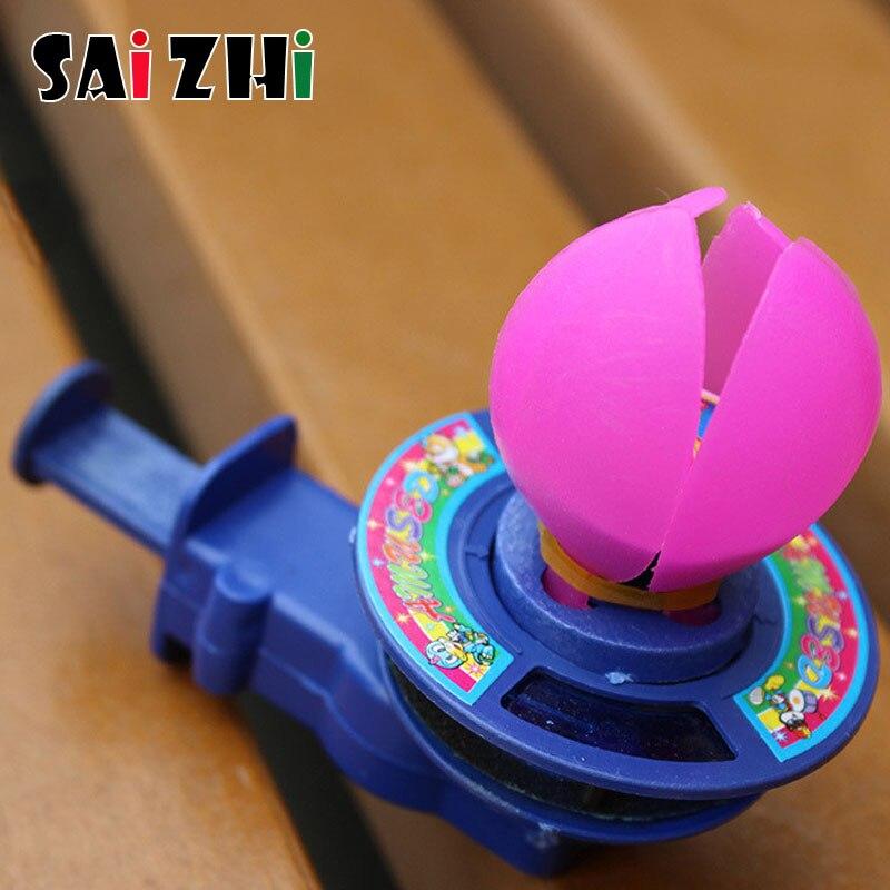 Saizhi, molino de viento clásico nostálgico, mano de loto, lámpara de loto de pedernal, juguetes infantiles tradicionales, regalo SZ1507