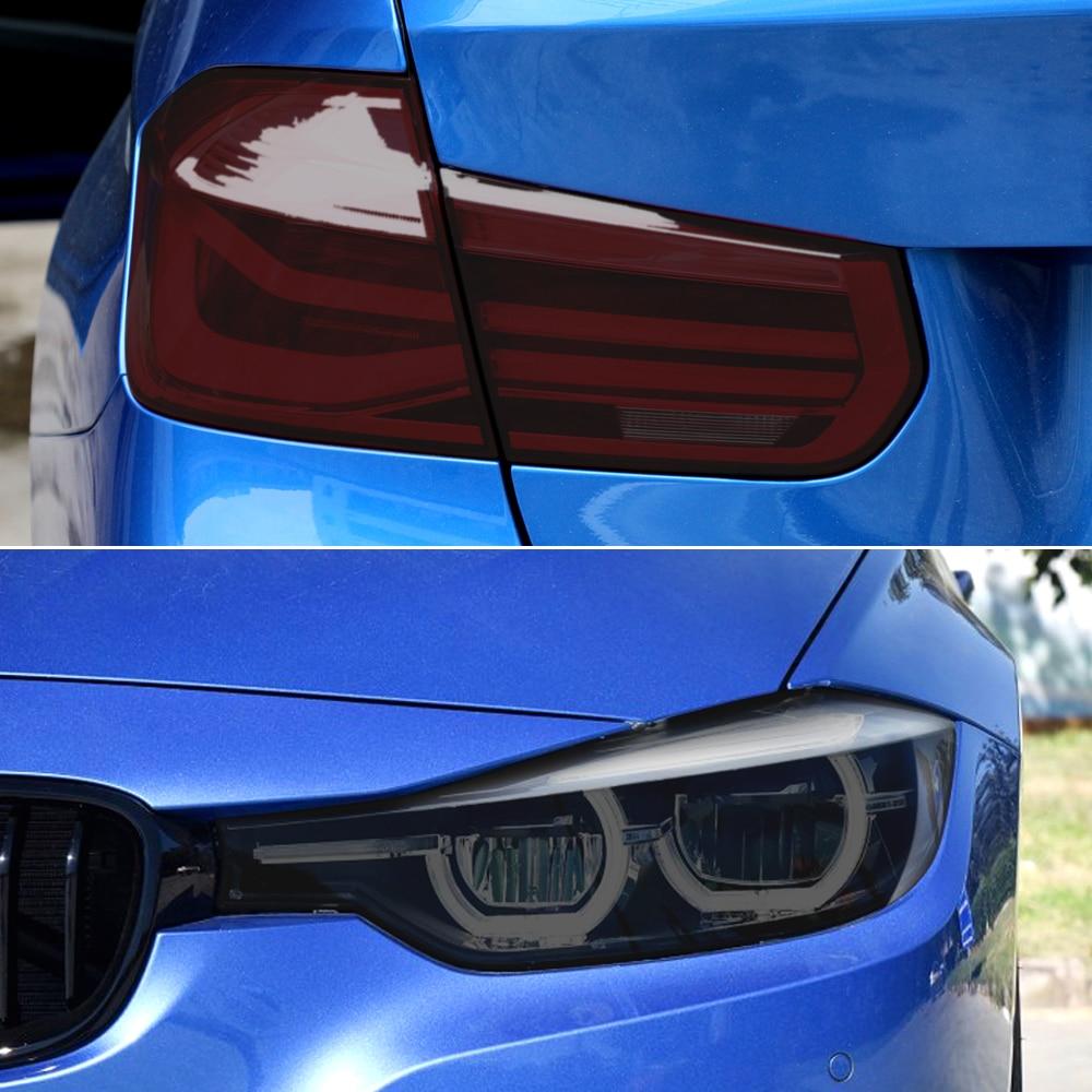 Estilo de coche faro trasero luz antiniebla pegatina para Hyundai Solaris Creta Kona Seat Ibiza León Fiat grande punto 500 ducato