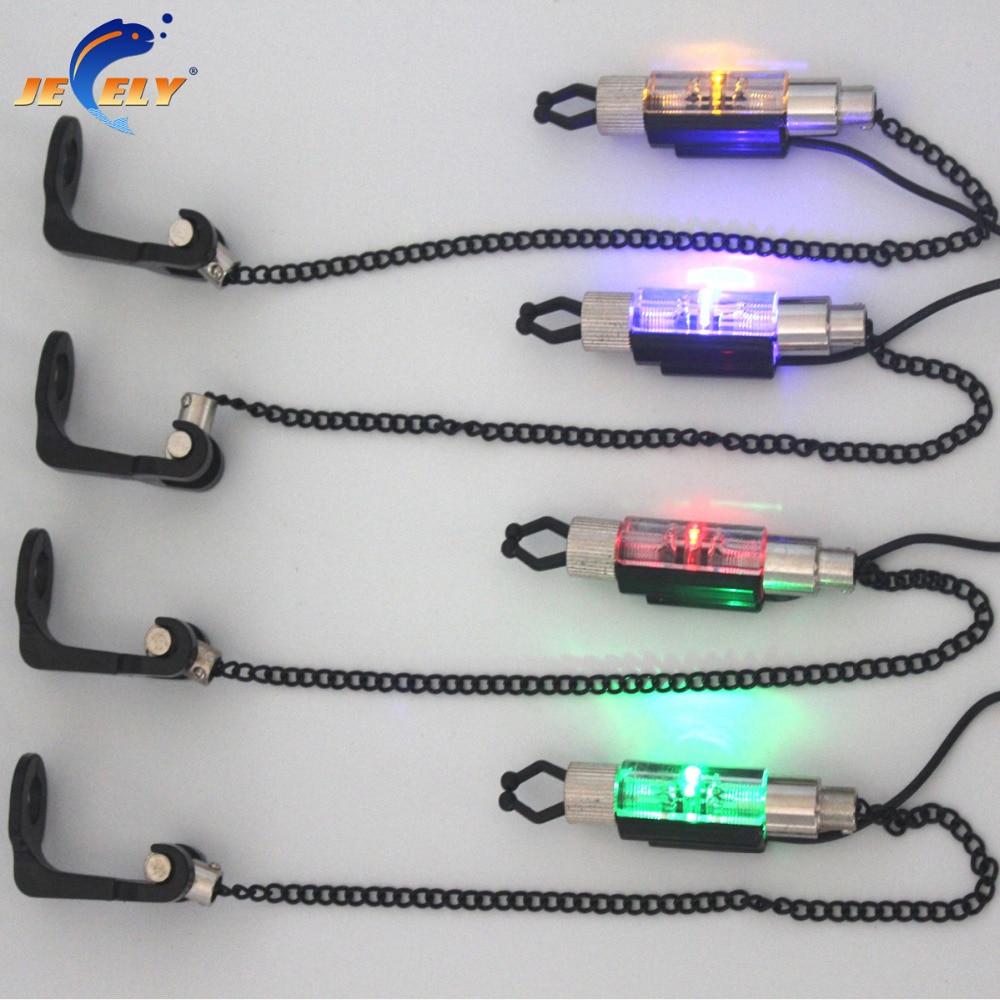 SW-5 Карп индикатор укуса для рыбалки светодиодный цепь рыболовная свингер для укуса сигнализация