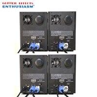 4pcs/lot Professional dmx remote stage cold spark fountain machine titanium powder machine for wedding dj disco
