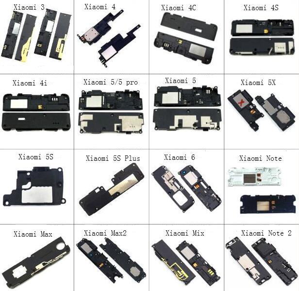 Loudspeaker Flex For Xiaomi 3 4 4c 4s 4i 5 5x 5s 5splus mi6 mi max max2 mix note 2 Loud Speaker Sound Buzzer Ringer Flex Cable