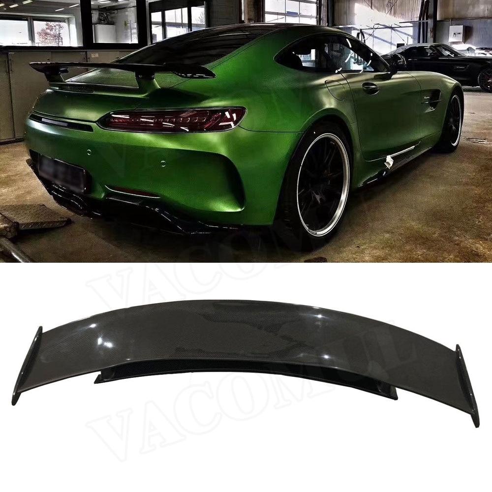 Carbon Fiber Heckspoiler Stamm Flügel Fit Für Mercedes Benz AMG GT AMG GTS AMG GTR Coupe 2-Tür auto Styling