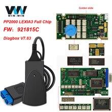 Lexia 3 PP2000 Volle Gold Chip 921815C Diagbox V 7,83 Für PSA LEXIA3 Für Citroen/Peugeot OBD OBD2 Auto diagnose Scanner Auto Werkzeug