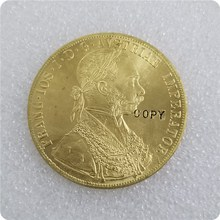1873-1894 Austria 4 Ducat Gold Coin COPY