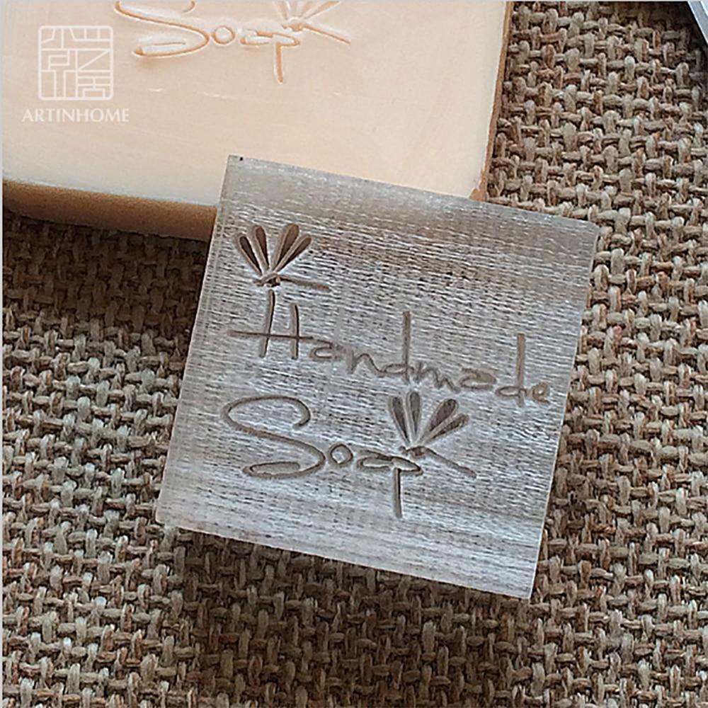 Sello de sello de jabón Nicole para jabón Natural hecho a mano, molde acrílico, capítulo