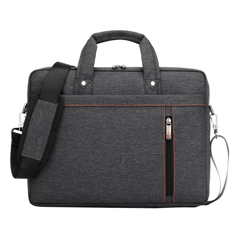 Burnur, tamaño grande, bolsa de nailon para ordenador portátil, tableta, bolsa, bolsa, bandolera, unisex, hombres, mujeres, duradero
