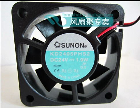 Wholesale: new original KD2405PHS2 5cm 50*50*15 24V 1.9W SUNON 2 wire inverter cooling fan
