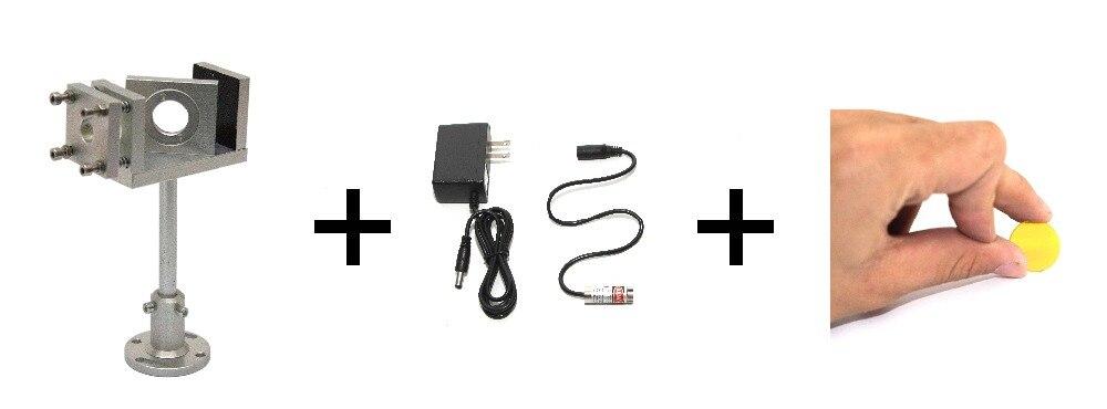 Haz un combinador 25mm de diámetro combinador para lente de haz combinador de montaje rojo puntero para CO2 máquina de corte por láser