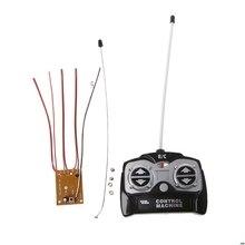 5CH 27Mhz télécommande unité récepteur carte + télécommande pour réservoir voiture jouet Radio système pour 130 moteur 6V 5V