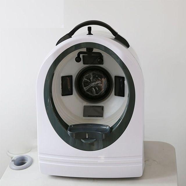 آلة تحليل البشرة, صالون تجميل جهاز تحليل البشرة تحليل الوجه