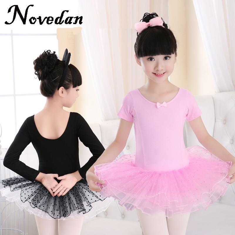 Tutús de Ballet profesional clásico romántico Cisne Negro rosado traje Balett niños Ballet vestido niña Ballet Tutu Niño