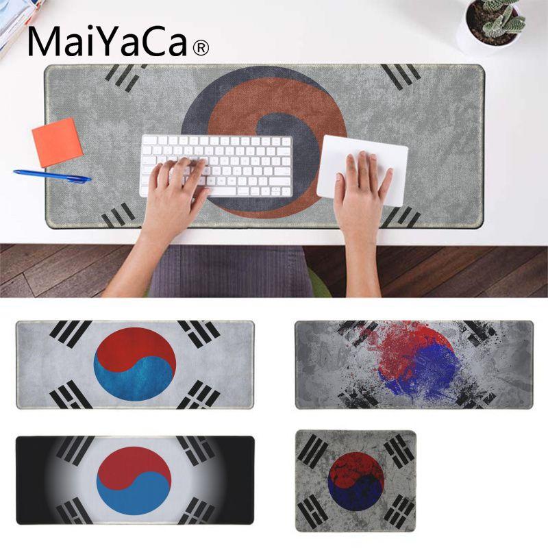 MaiYaCa Top Coréia Qualidade Bandeira Personalizado MousePads Computador Laptop Anime Mouse Pad Gaming Laptop Lockedge Camundongos Mousepad