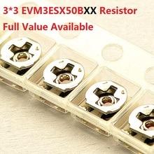 20PC resistore variabile 3*3 millimetri SMD10K/1 K/20 K/50 K/100 k/3 K/5 K/2 K regolabile trimmer del potenziometro EVM3ESX50B14/13/24/54 /15/33/23/53