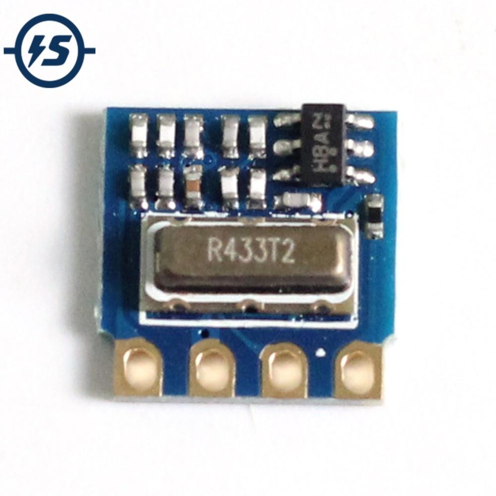 H34A-433 433Mhz MINI RF Wireless Sender Modul Mindest Fernbedienung Modul FRAGEN 2,6-12 V 3 teile/los