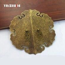 Poignée de garde-robe en cuivre pur   200mm haut de gamme, poignée de garde-robe chinoise, poignées de porte rétro, poignée de meuble Antique