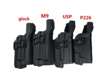 TacticalLV3 Auto Luminosa di blocco Cuscinetto Cintura fondina Con lampada di Ripresa holster per Glock 17 19 M9 92 Colt 1911 sig P226 HK USP